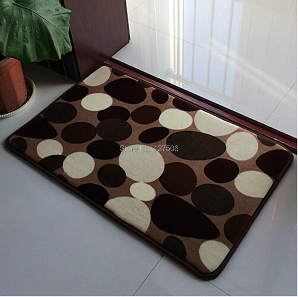 Size 40cm 60cm Bath Mats Mini Rug Carpet Pad For Doormat