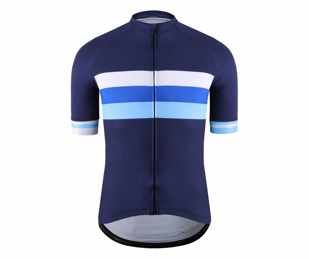 SPEXCEL Classic mesh Breathable pro short sleeve cycling jerseys High quality bicycle shirt blue stripe design bicycle equipmentSPEXCEL Classic mesh Breathable pro short sleeve cycling jerseys High quality bicycle shirt blue stripe design bicycle equipment