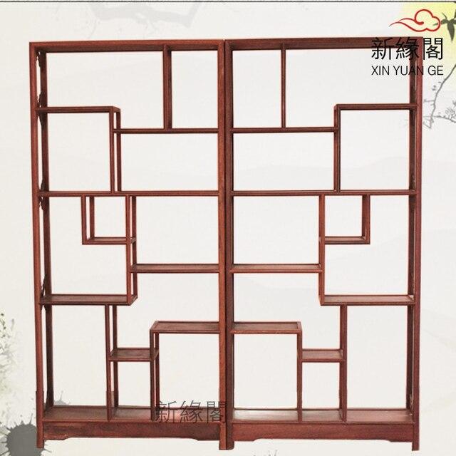 Straight wood mahogany Shelf antique frame antique curio display ...