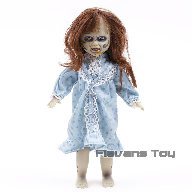 Mezco Action Figure Horror Living Dead Dolls Presents The Exorcist PVC Halloween Decoration Collection Model Toys