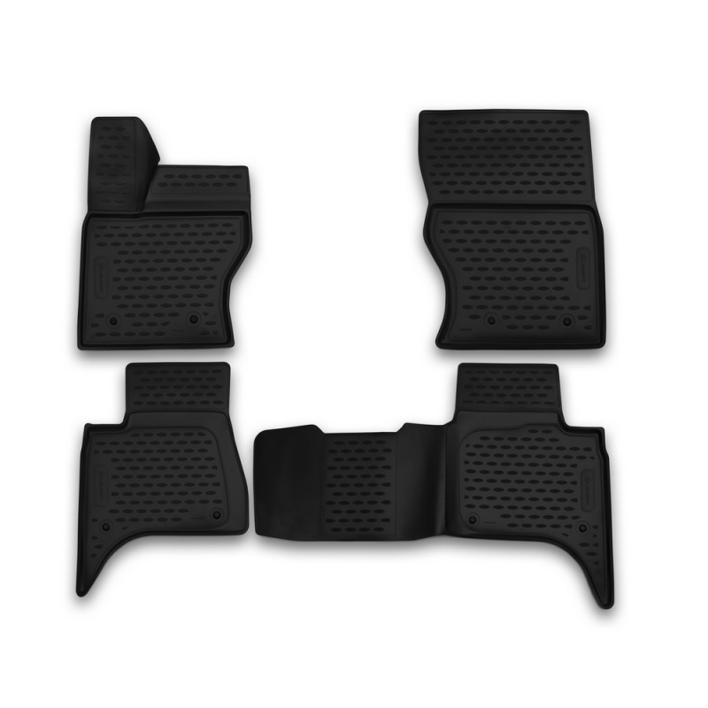 Фото - Car Mats 3D salon For LAND Rover Range Rover 2013->, 4 PCs (polyurethane) car mats 3d salon for land rover freelander 2 2013 4 pcs polyurethane