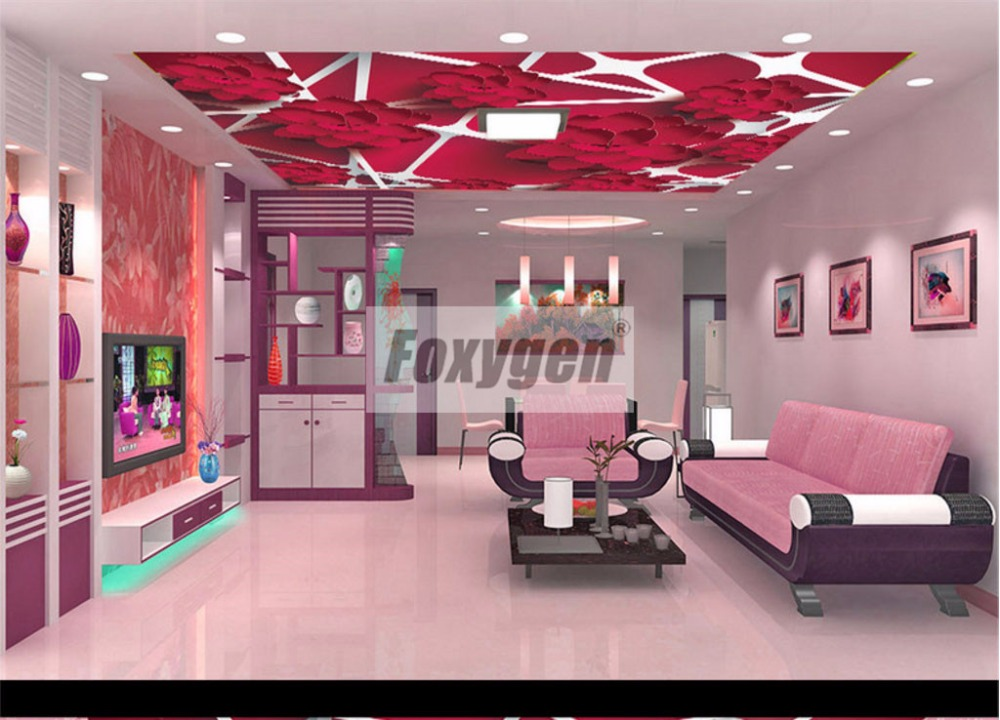 Foxygen ceiling and wall decoration materials PVC Suspended false ...