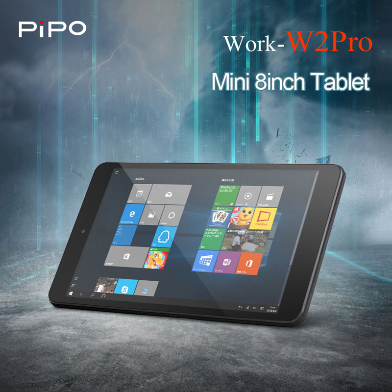 Original Pipo W2PRO Tablets PC 8'' Full HD IPS Screen Windows 10 Intel Cherry Trail Z8350 Quad Core 2GB+32GB Dual Cam Tablets(China)