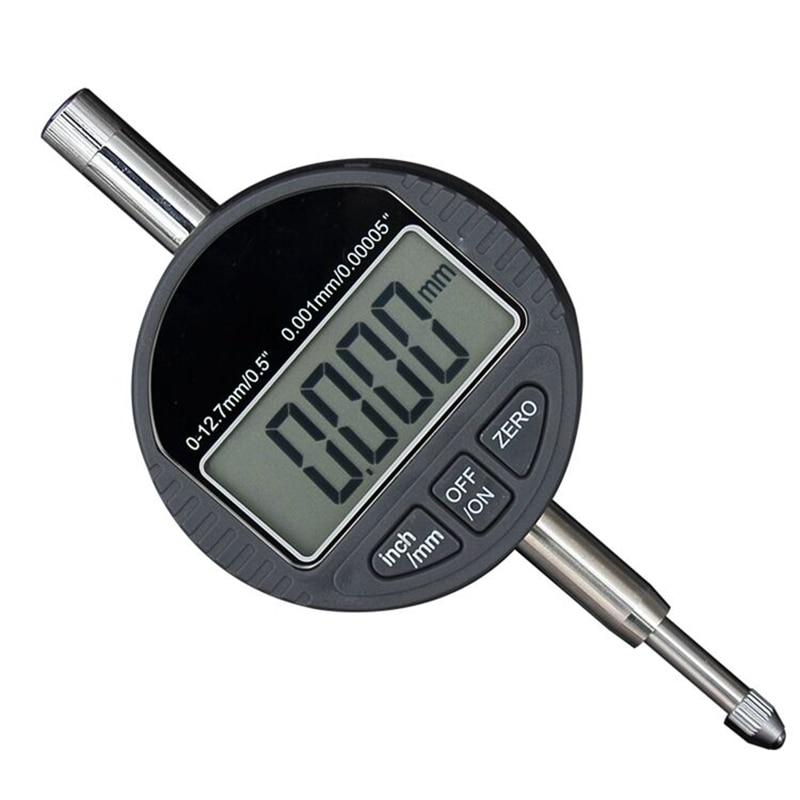 0.00005 Digital Micrometer 0.001mm Digital Micrometer Gauge Metric/Inch Dial Indicator Meter Range 0-12.7mm RS232 Data Output