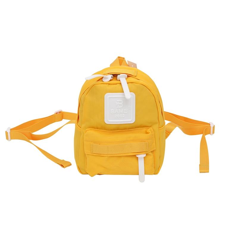 New Canvas Backpack Female Small Nylon Waterproof  Women's Cute Backpacks Ladies Teenagers Mini School Travel Parent-Child Bag