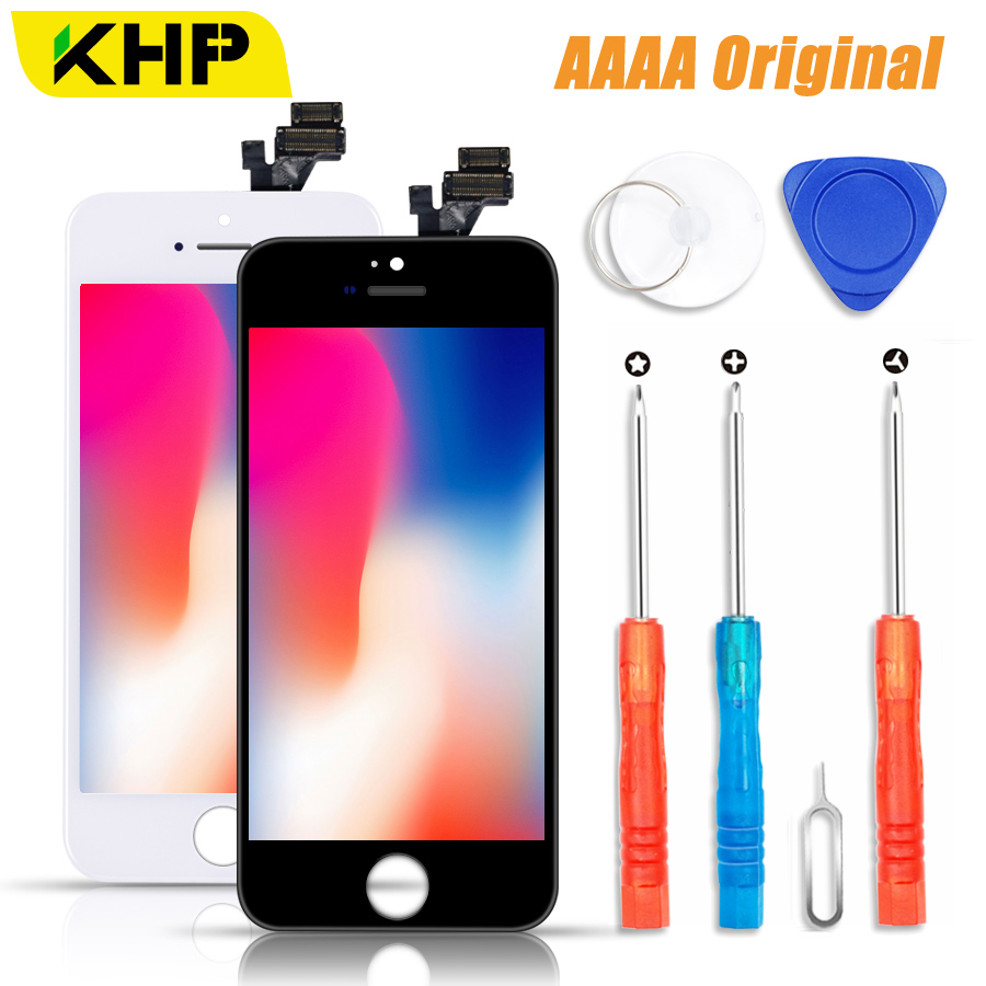 2018 KHP 100% AAAA Original LCD Screen Für iPhone 5 s 5 SE 5C Bildschirm LCD Display Digitizer Touch Modul 5 s SE Bildschirme Ersatz