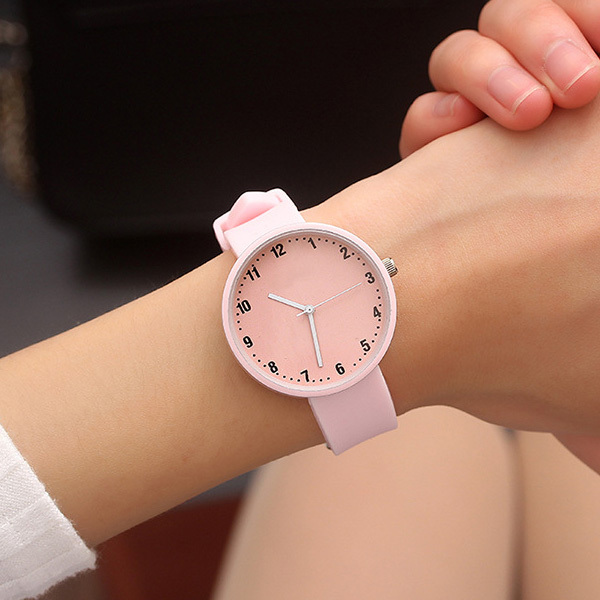 Fashion Silicone Wrist Watch