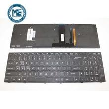 Tastatur Für CVM15F23USJ430D/CVM15F23USJ430B 1701057808M 6 80 N8500 010 1 UNS mit RGB hintergrundbeleuchtung UNS version