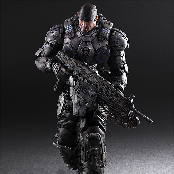 11 Play Arts Kai PA Marcus Fenix game Gears of War 3 war machine harley quinn joker PVC action Figure Collection Model Toy
