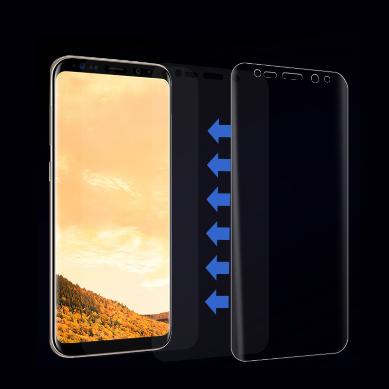 Suntaiho Protective Film For Samsung Galaxy S8 Soft Full Curved Screen Protector Film For Samsung Galaxy S8plus Film( Not Glass)