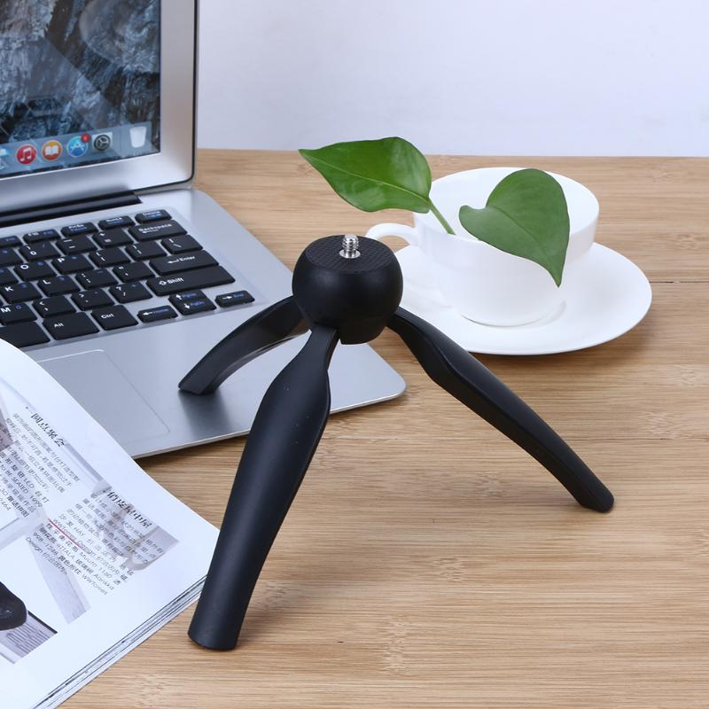 Mini Tripod Flexible Portable stand With Phone Holder Ball head For Phone Digital DSLR Camera Smartphone for Live Show
