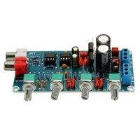 New Arrival NE5532 OP AMP HIFI Amplifier Preamplifier Volume Tone EQ Control Board DIY Kits