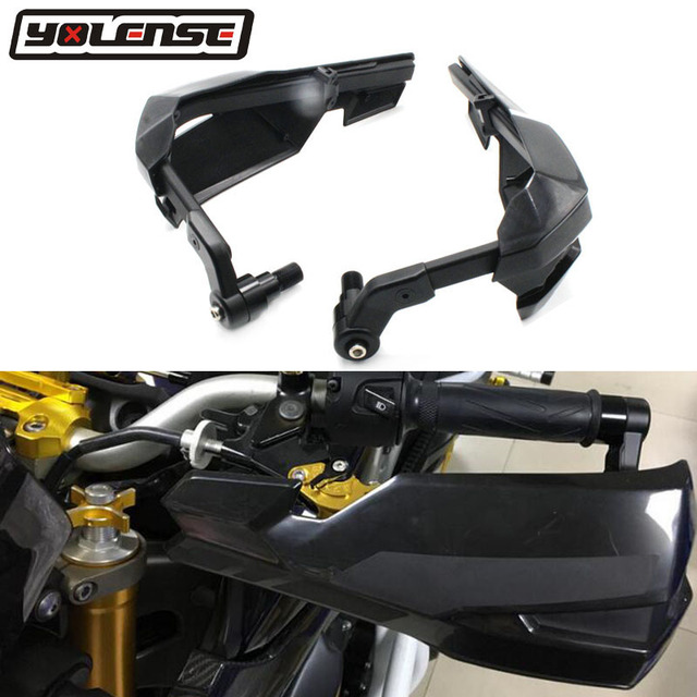 Motocicleta Handguard Fluxo de Vento Deflector Escudo Para Yamaha MT07 FZ07 MT-07 FZ-07 2015 2016 2017 Protetor de Mão Protetor