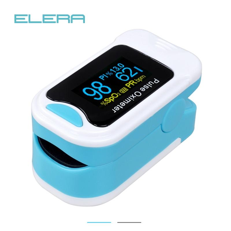 ELERA New Alarming Portable finger Pulse Oximeter SPO2 PR Pulse Oximeter a Finger Pulsioximetro Oximetro de Dedo