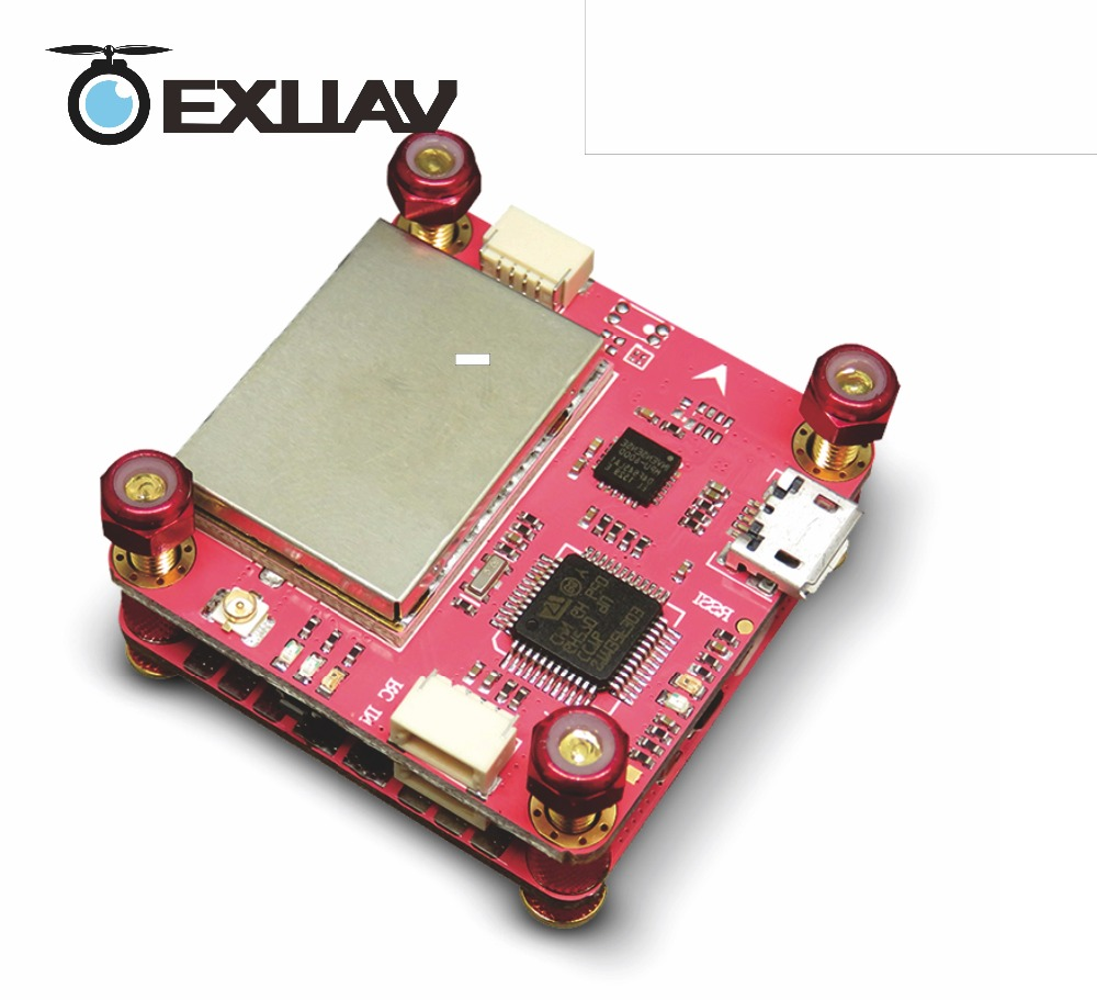 EXUAV Flytower F3 Pro Flight controller board(Omnibus) integrated OSD,4 in 1 ESC Adjustable VTX 2 layers design for Racing Drone omnibus aio f7 v2 flight controller board and 4 pieces wraith32 32bit blheli esc for fpv quadcopter drone frame