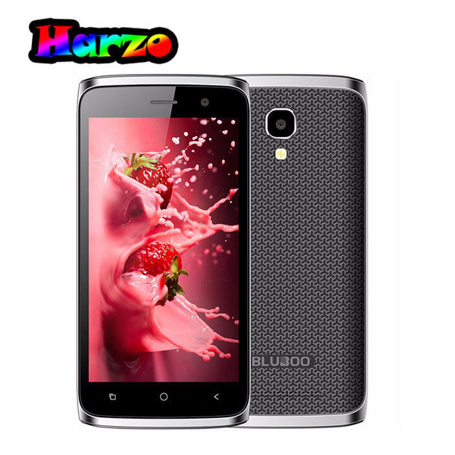 Original BLUBOO Mini Android 6.0 Quad Core MT6580m 1.3GHz 1GB RAM+8GB ROM 4.5 inch 8.0MP+5.0MP 1280*720P 1800mAh Mobile Phone