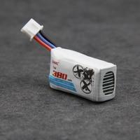 5pcs LDARC 2S 380mAh 7.4V 50C Lipo Battery for Micro indoor Quadrotor Racing Drone LDARC GT7 GT8