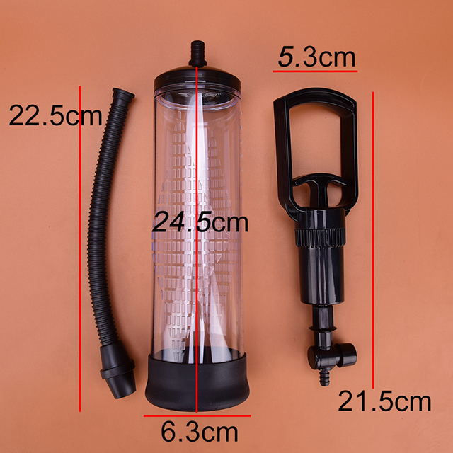 1PCS Penis Enlargers Vacuum Pump Male Penis Extender Enlargement Penis Pump Vacuum Pump Diameter: 6.3cm 6