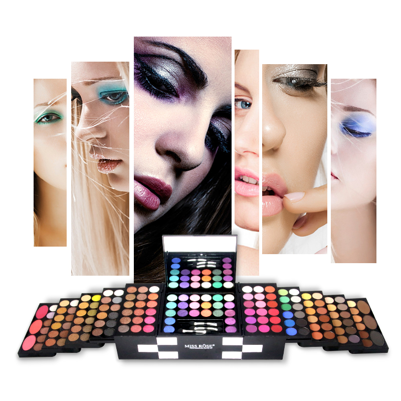 Brand Make Up Matte Pallet 144 Color Eye Shadow Maquiagem Eyeshadow Pallete Makeup Shadows Palette Kit Cosmetics Set Of Shadows щетка для волос 3d detangling ze06400