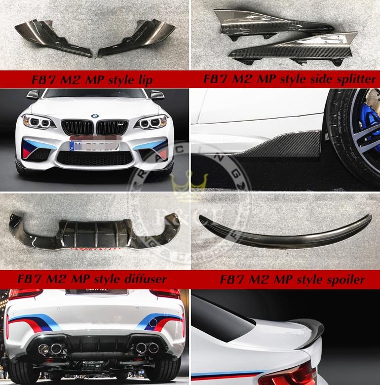 2017+ For BMW F87 M2 MP/MTC/CS/VOR/AK/DTM/GTS/AC Style