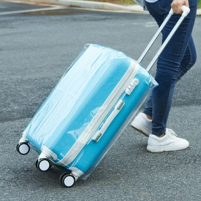 Waterproof Luggage Covers – Leaf Printed Travel Suitcase Covers for 20/22/24/26/28 inch Cases