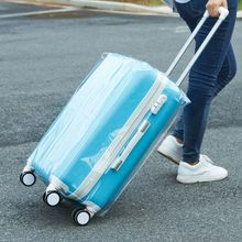 Luggage Covers Leaf Printed Travel Luggage Cover Waterproof Suitcase Covers for 20/22/24/26/28 inch Cases(China)