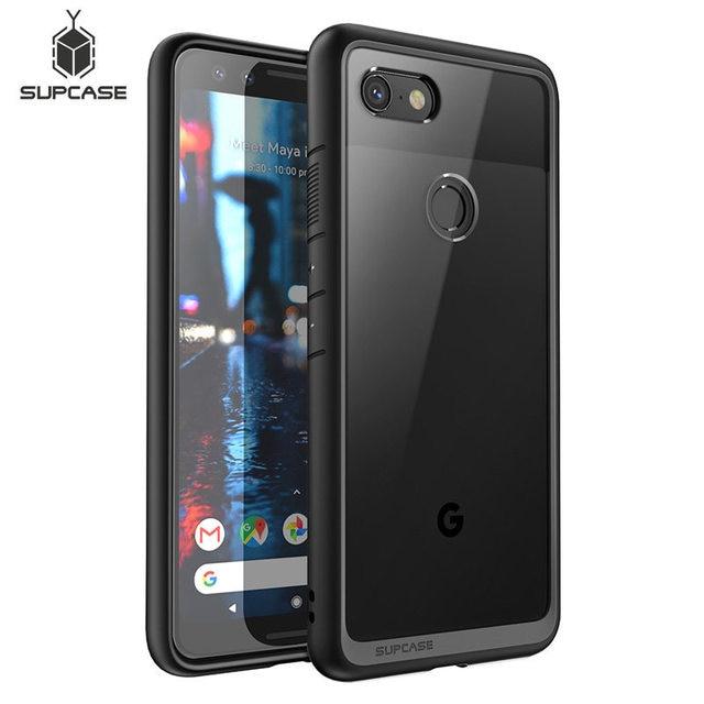 """Dla Google Pixel 3 Case 2018 wydanie 5.5 """"SUPCASE UB Style Anti knock Premium hybrydowy ochronny TPU zderzak + przezroczysta obudowa komputera"""