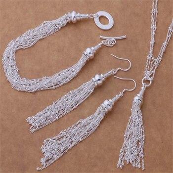 bb64929f870d AS275 Venta caliente Chapado en plata bien conjuntos de joyas al por mayor 925  envío gratis