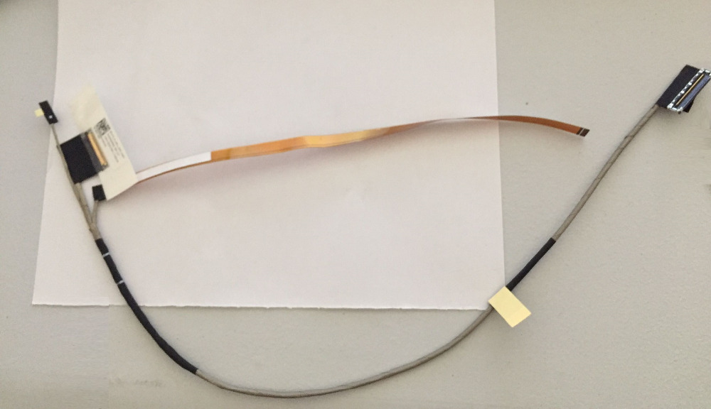 WZSM New LCD Display Screen Video Cable For Lenovo YOGA 710 710-14 710-15 710-14IKB DC02002F600