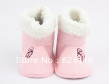 BX91 Baby Cotton Snow winter Boots Baby Shoes Prewalkers First Walkers Footwear Baby Infant Toddler Girl