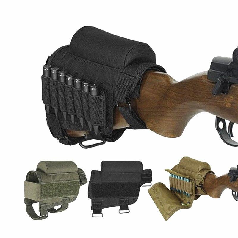 Shooting Rifle Buttstock Cheek Rest Riser Ammo Holder Loop 3 Versions-TOURBON