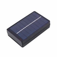 1W 4V Solar Panel Charging Box Polysilicon Ultra Thin Assembly Home Convenient Durable For 2xAA/AAA Battery Outdoor Travelling