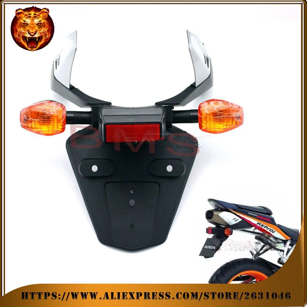 Для Honda ЦБ РФ 600RR CBR600RR 03-06, CBR1000RR крыло Элиминатор регистрационный номерной знак держателя Кронштейн с поворотом Сигна свет