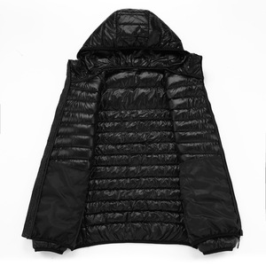 Image 4 - NewBang Marke 8XL 9XL 10XL männer Unten jacke Ultra Licht Unten Jacke Männer Leichte Feder Mit Kapuze Warme Tragbare Winter mantel