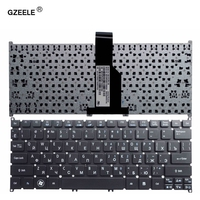GZEELE ruso teclado del ordenador portátil para Acer Aspire V5 V5-123 V5-131 S3-331 Aspire uno AO725 AO756 RU portátil negro sin marco