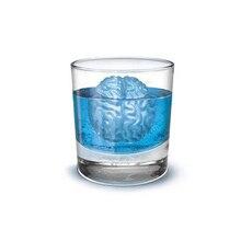 Весело Заморозить Мозг Shaped Для Льда Куб Делает 4 Кубов