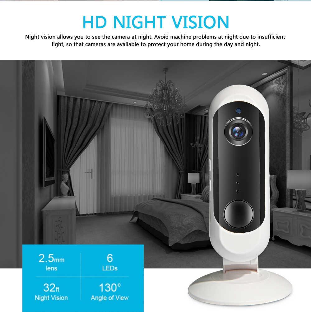 INQMEGA Беспроводная зарядная батарея камера Домашняя безопасность 1080P Мини ip-камера WiFi камера ночного видения перезаряжаемая PIR/Аудио/сигнализация
