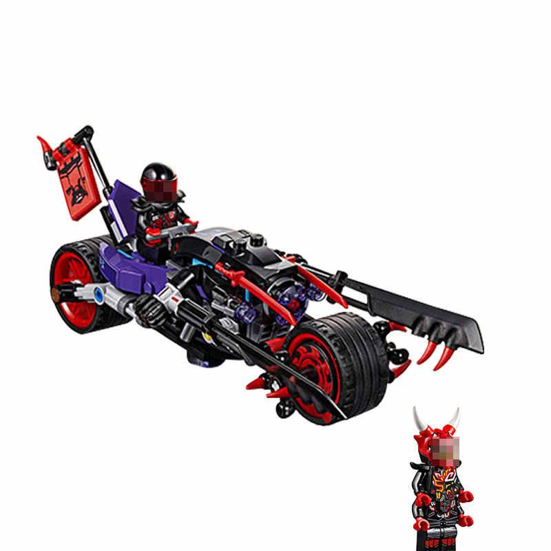Mailackers Ninjago 06074 A Corrida de Rua de Cobra Ninjagoing Jaguar 308Pcs Blocos de Construção de Brinquedos Para Crianças 70639