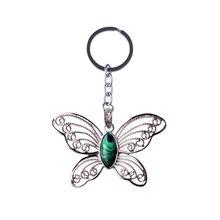 Модные ювелирные изделия милый брелок в форме бабочки натуральный