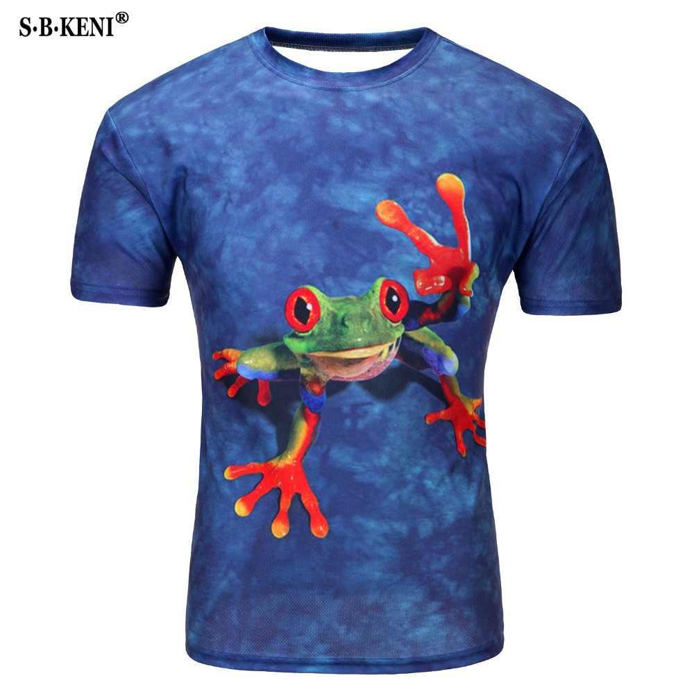 2019 модная новая крутая футболка для мужчин Harajuku 3D Футболка с принтом суицида клоуна с коротким рукавом летние футболки 3D Футболка мужская футболка