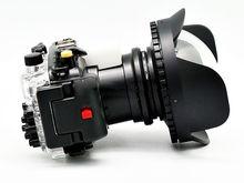 Meikon Waterproof Underwater Housing Camera Case for Sony RX100-IV RX100IV RX100 IV / M4 Mark IV mark 4 +Fisheye Wide Angle Lens