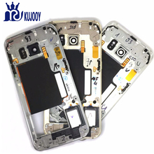 10pcs S6 S6 Edge Middle frame For Samsung Galaxy G920 G925 Front Bezel Middle Frame Housing