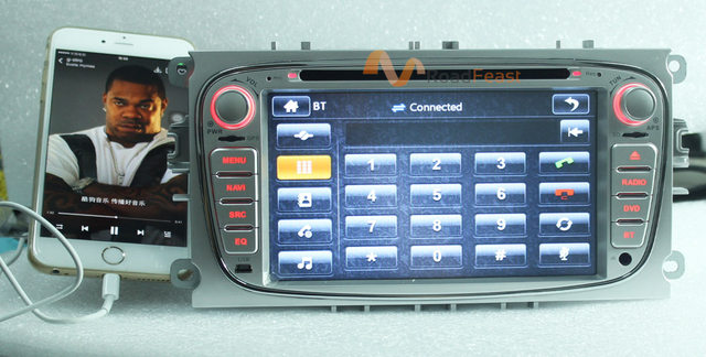Roadrision Inch Car Dvd Gps Player For Ford Focus Ii  Mondeo S Max C Max With Bluetooth Auto Radio Multimedia Navigation P