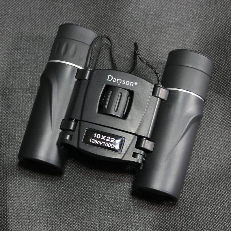 10X22 binoculars 126 1000m Hd wide-angle Central Zoom Low light Night Vision foldable Binoculars telescope not infrared