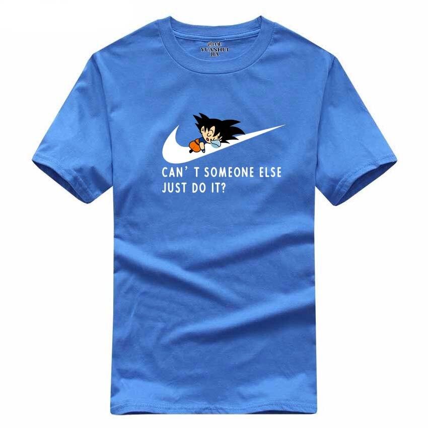 2017 Νέο γράμμα T Shirt Μπλουζάκια Mens dragonball - Ανδρικός ρουχισμός - Φωτογραφία 4