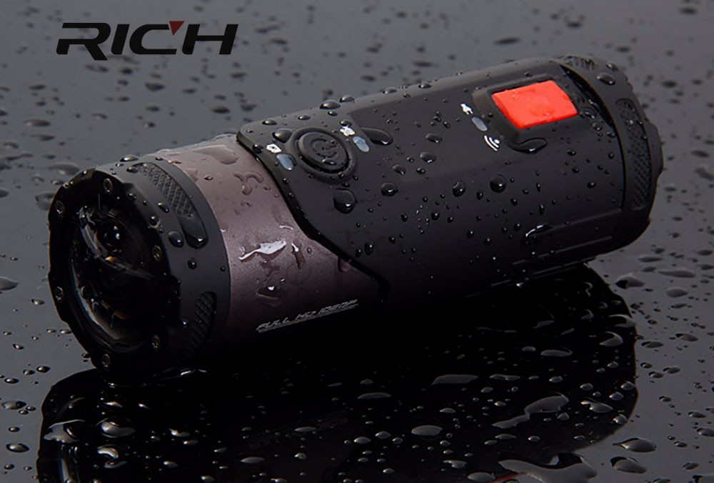 цена на DHL 5pcs/lot S20W Flashlight Style WIFI sport Action Camcorder 170 Degrees Wide Angle 1080P 10M Water Resistant