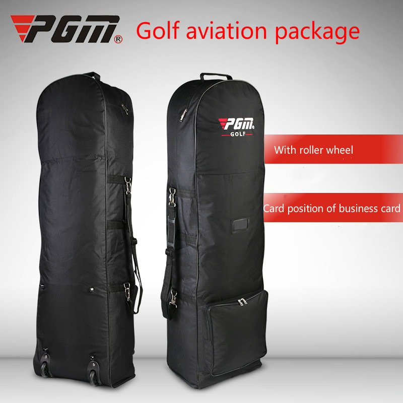 Bolsa de Golf de viaje con ruedas de almacenamiento de gran capacidad de bolso de Golf de aviación bolsa plegable avión viajar Nylon bolsas de Golf - 2