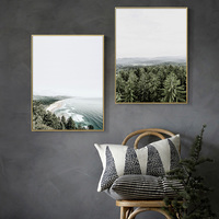 Nordic Forest Poster Wall Art Beach landscapes Sea Canvas Prints Nordic Decoration Home Canvas Pictures For Living Room Unframed