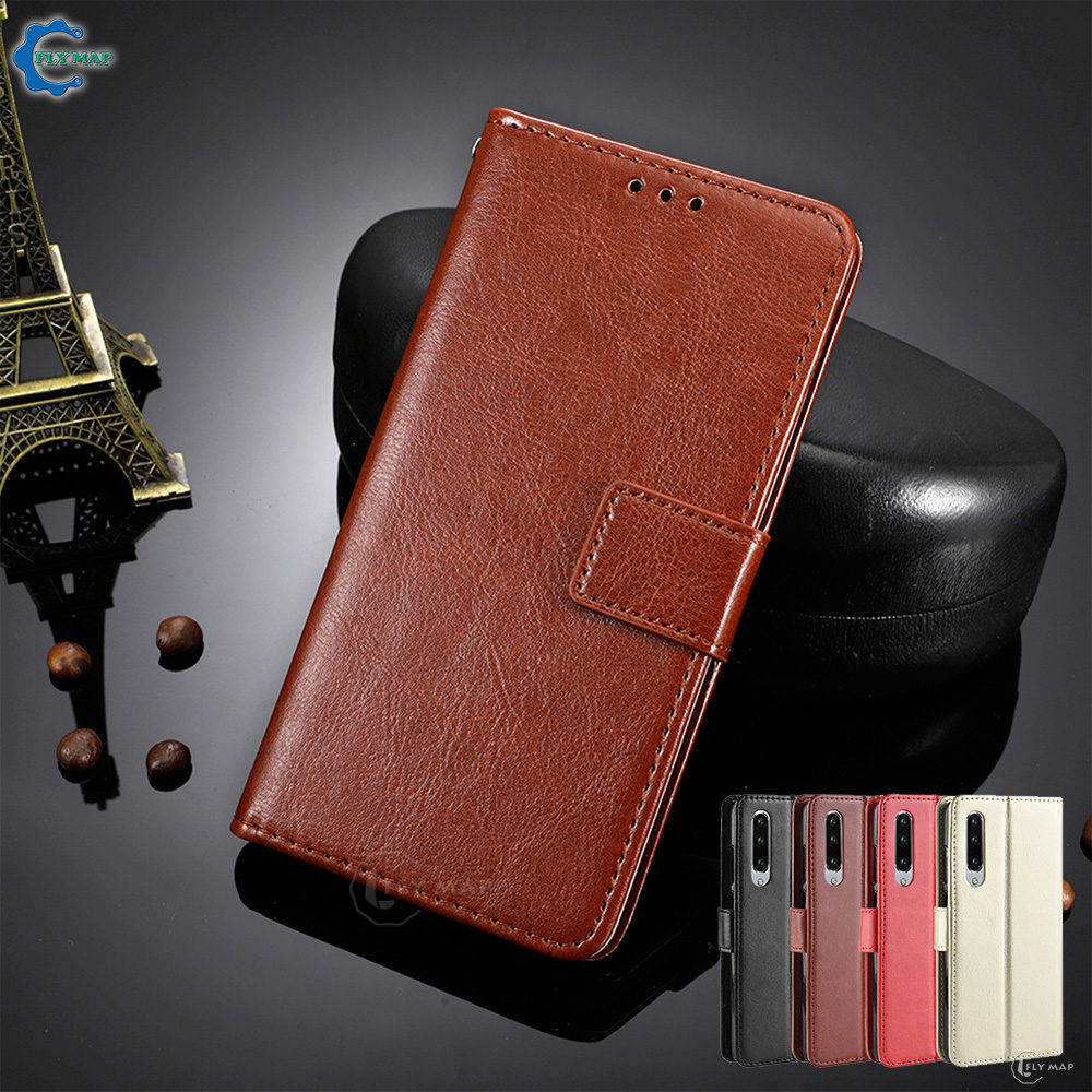 Vintage Flip Case For Huawei P30 Wallet Phone Leather Cover Coque Soft Silicone Bag for Huawei P 30 ELE L09 L29 ELE-L09 ELE-L29