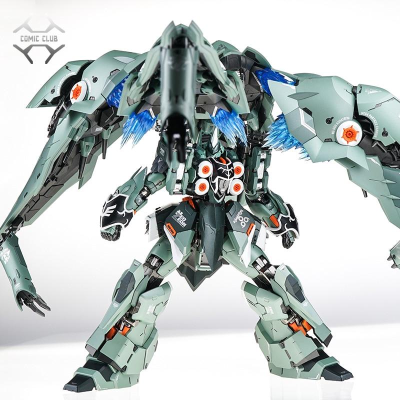US $315 0 10% OFF|COMIC CLUB Steel Legend MB metalbuild 1/100 ALLOY  KSHATRIYA Anime Gundam unicorn Action Figure robot toy-in Action & Toy  Figures